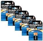 Duracell MX1604 Ultra Power 9v Batteries