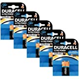 Duracell MX1604 Ultra Power 9v Batteries--Pack of 5