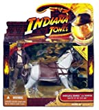 Indiana Jones 3.75 Inch Deluxe Figure Indiana Jones with Horse