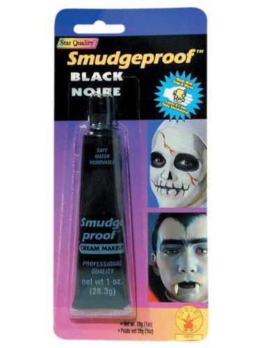 Rubie's Black Smudgeproof Costume Make-up