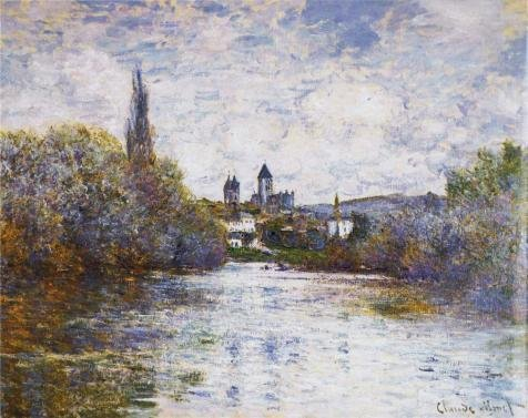 Oil Painting 'Vetheuil, The Small Arm Of The Seine, 1880 By Claude Monet', 12 x 15 inch / 30 x 38 cm , on High Definition HD canvas prints is for Gifts And Gym, Home Theater And Powder Room Decoration (Marvel Studios 12 Inch Blade compare prices)