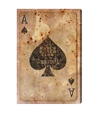Oliver Gal Ace of Spades Canvas Art