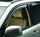 WeatherTech 80200 Dark Tint 2-Piece Side Window Deflector