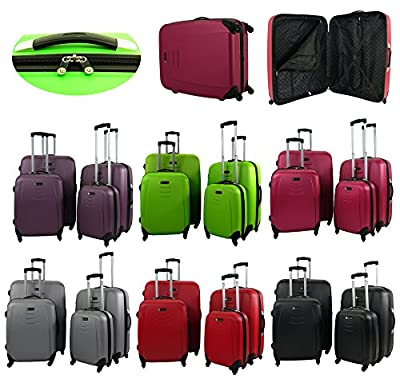 ABS 4 Wheels Spinner Hard Shell Luggage
