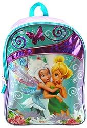 """Disney Fairies Tinkerbell Periwinkle 16"""" Large School Backpack"""