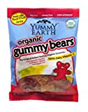 YummyEarth Organic Gummy Bears, 5-Ounce Bags (Pack of 12)