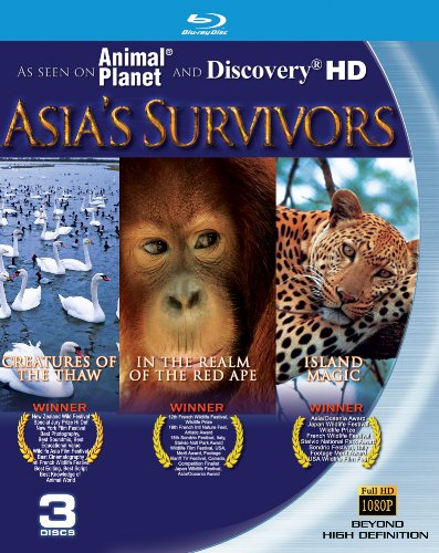 Asia's Survivors (Island Magic, Creatures of the Thaw, In the Realm of the Red Ape [Blu-ray]