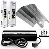 iPower GLSETX600DHMWING20 600-Watt Light Digital Dimmable HPS MH Grow Light System for Plant - Wing Set