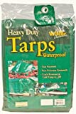 Heavy Duty Waterproof Tarp – Green, 20-by-40 Foot (20×40)