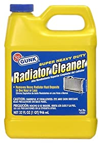 Motor Medic by Gunk C2232 Super Heavy Duty Radiator Cleaner - 32 oz.