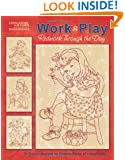 Work & Play, Redwork Through the Day  (Leisure Arts #5274)