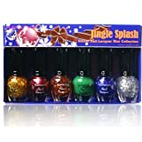 Kleancolor Glitter Nail Lacquer Mini Collection-jingle Splash