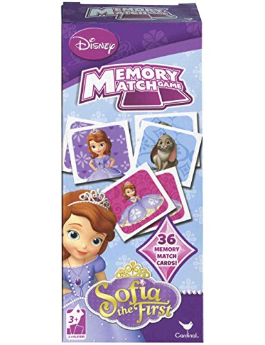 Disney Sofia the First Memory Match Game