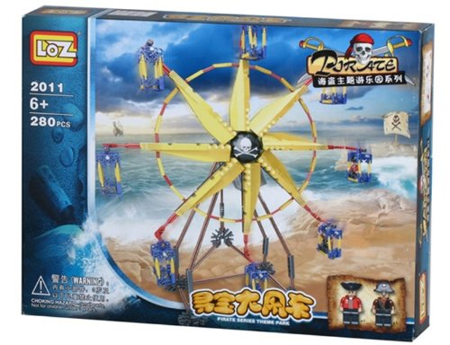 Electric Windmill Building Blocks 280 Pieces