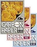 カーボン紙 片面筆記 10枚入【赤】 PCPP100R