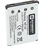 Fujifilm FinePix JX500 Digital Camera Battery Lithium-Ion (800 mAh) - Replacement for Fuji NP-45, NP-45A Battery