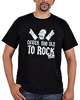 Die Simpsons Rock T-Shirt schwarz