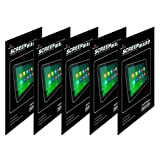 Screenward (Pack Of 5) Screen Protector Scratch Guard For New Google Nexus 7 FHD Tablet 2nd Gen