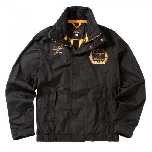 Joules Hurlingham Polo Mens Jacket Black Large