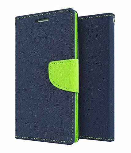 Vinnx Flip Cover For Samsung Galaxy Ace Nxt G313 Mercury Case (Blue)  available at amazon for Rs.145