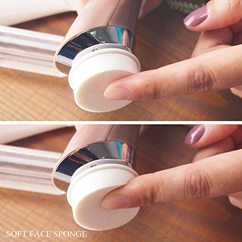 Wave facial cleansing machine