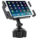 Satechi® SCH-121 Cup Holder Mount for Smartphones & Tablets: iPad, Mini/Air, Droid Razr HD, Maxx, Samsung Galaxy Tab, One X, iPhone 6 Plus, 6, 5S, 5C, 5, Note 3, Nexus 5, S, Galaxy S6 Edge, S6, S5