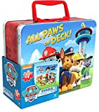 Paw Patrol Puzzle in Tin