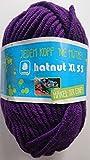 Hatnut XL 55 / Farbe 48 - lila (Wolle)