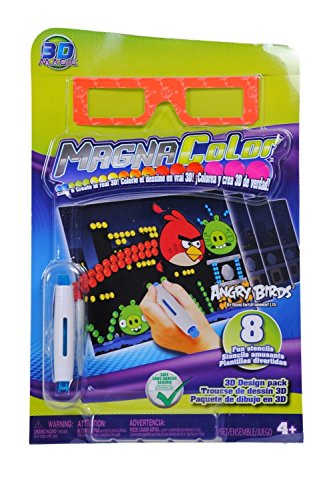 MagnaColor 3D Magic Angry Birds refill pack - 1