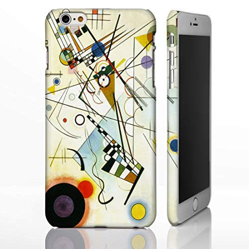 Cover per iPhone Cover con i quadri degli artisti più famosi., plastica, Composition VIII - Candinsky, iPhone 6