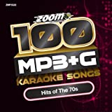 Zoom Karaoke Zoom Karaoke MP3+G Disc - 100 Songs - Hits of The 70s