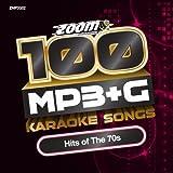 Zoom Karaoke MP3+G Disc - 100 Songs - Hits of The 70s Zoom Karaoke