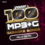 Zoom Karaoke MP3+G Disc - 100 Songs -...