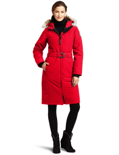 Canada Goose Women's Whistler Parka,  Red,  X-Small