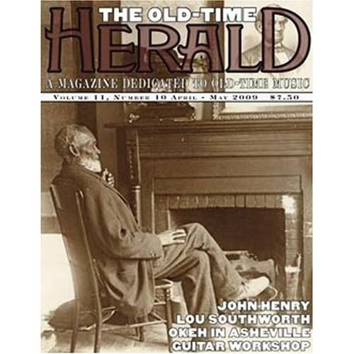 Magazine cover for Old-Time Herald