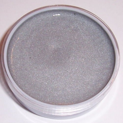 Silver Mehron Color Cup Makeup Oil Base Profesional Stage Clown