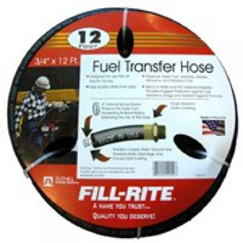 "Tuthill Corporation Fuel Hose 12Ft X 3/4"" Frh07512"