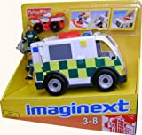 Fisher-Price - Imaginext - Ambulance And Crew