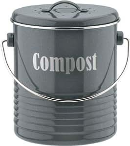 typhoon vintage black kitchen compost bin