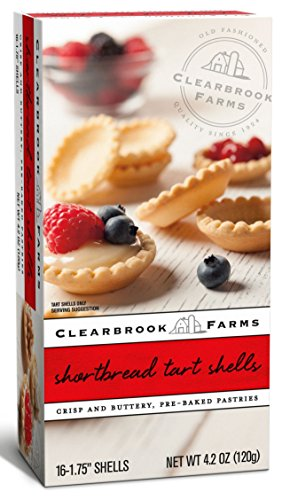 Clearbrook Farms Mini Tart Shells, 16 Count, 4.2 Oz. (Ready Mini Pie Shells compare prices)