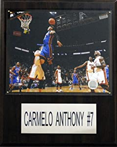 NBA Carmelo Anthony New York Knicks Player Plaque by C&I Collectables