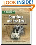 Genealogy and the Law: A Guide to Legal Sources for the Family Historian