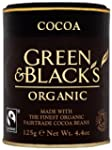 Green and Black's Organic Cocoa 125 g...