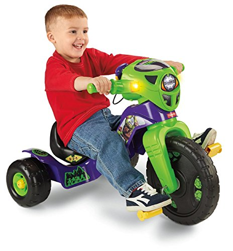 Find Cheap Fisher-Price Nickelodeon Teenage Mutant Ninja Turtles Lights and Sounds Trike