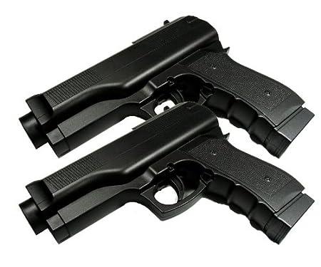 Wii Motion Plus Pistol Gun Kit - Set of 2