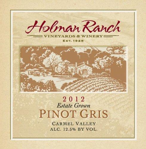 2012 Holman Ranch Carmel Valley Estate Grown Pinot Gris 750 Ml