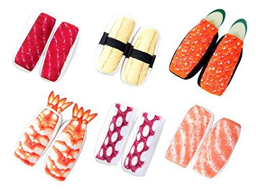 寿司そっくす 6種のネタの詰め合わせセット サイズフリー