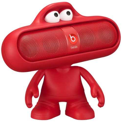 Beats Pill 2.0 Portable Speaker - Red & Dude Character - Red (Bundle)