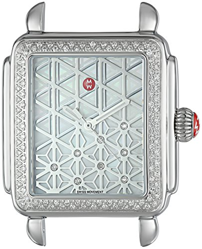 MICHELE-Womens-Deco-Swiss-Quartz-Stainless-Steel-Casual-Watch-ColorSilver-Toned-Model-MW06T01A1097