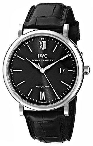 IWC IW356502Portofino-Reloj automático negro Dial del hombre por IWC